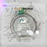 Achtergrond voor affiche in grungestijl Grungedruk voor t-shirt abstracte achtergrond De achtergrond van de textuur Stock Afbeelding