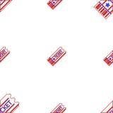 Achtergrond voor couponkaartje Stock Foto