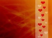 achtergrond voor de Dag van de Valentijnskaart Stock Afbeeldingen