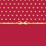 Achtergrond voor de dag van de valentijnskaart Stock Foto's