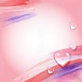 Achtergrond voor de Dag van Valentijnskaarten Royalty-vrije Stock Foto's