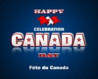 Achtergrond voor de dagviering van Canada Royalty-vrije Stock Foto