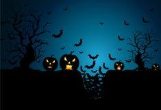 Achtergrond voor Halloween-Vieringen stock foto's