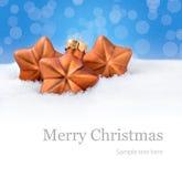 Achtergrond voor Kerstmis Royalty-vrije Stock Foto