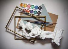 Achtergrond voor kunstenaars Royalty-vrije Stock Foto's