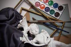 Achtergrond voor kunstenaars Stock Fotografie