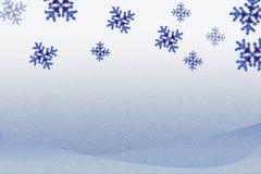 Achtergrond voor mas van x ` met sneeuwvlokken stock illustratie