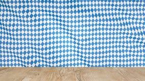 Achtergrond voor meest oktoberfest bierfestival met een houten lijst in de voorgrond stock fotografie