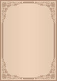 Achtergrond voor menu Stock Foto