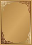 Achtergrond voor menu Royalty-vrije Stock Foto's