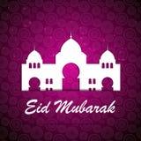Achtergrond voor Moslim Communautaire Festivalvector Stock Fotografie