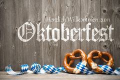 Achtergrond voor Oktoberfest stock foto's