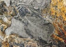 Achtergrond, zwarte stenen Stock Afbeelding