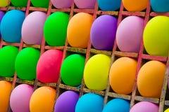 Achtergrondballons van verschillende kleuren royalty-vrije stock afbeeldingen