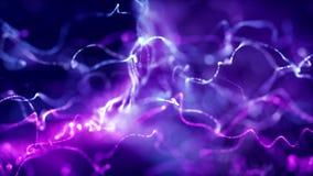 Achtergrondbliksem lilac purple royalty-vrije illustratie
