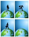 Achtergronden de bedrijfs van de Aarde Stock Afbeelding