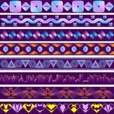 Achtergronden in de stijl van ultraviolet stock illustratie