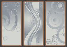 Achtergronden met grijze schaduw. Royalty-vrije Stock Fotografie