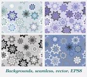 Achtergronden, naadloze, grijze kleuren Royalty-vrije Stock Fotografie