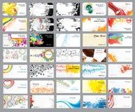 Achtergronden op verschillende onderwerpen. Stock Afbeeldingen