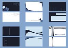 Achtergronden voor adreskaartjes Royalty-vrije Stock Afbeelding