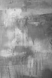 Achtergrondinzameling - Grijze pleistermuur stock fotografie