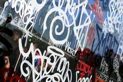 Achtergrondkleur van straatgraffiti Stock Afbeeldingen