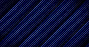 Achtergrondlijnanimatie die weg in Blauwe Tonen op Zwarte van 4k Animatiekader langzaam verdwijnen vector illustratie