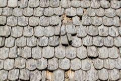 Achtergrondmuur van de oude houten tegels Stock Afbeelding