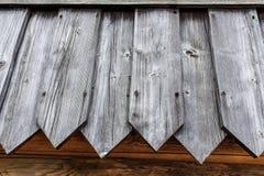 Achtergrondmuur van oude houten planken Royalty-vrije Stock Afbeeldingen