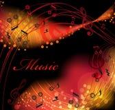 Achtergrondmuziek Royalty-vrije Stock Foto's