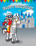 Achtergrondontwerp gelukkige verjaardag Royalty-vrije Stock Afbeeldingen