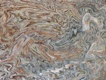 Achtergrondpatroon met golven Imitatie van een marmeren textuur Stock Afbeelding