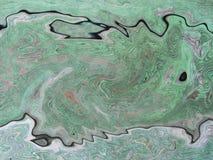 Achtergrondpatroon met golven Imitatie van een marmeren textuur Stock Afbeeldingen