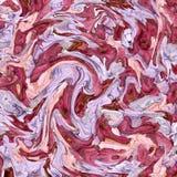 Achtergrondpatroon met golven Imitatie van een marmeren textuur Stock Fotografie