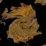 Achtergrondpatroon met golven Imitatie van een marmeren textuur Royalty-vrije Stock Fotografie