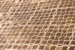 Achtergrondpatroon, textuur Rooster plastic bevloering Netpavi royalty-vrije stock foto