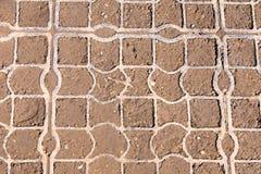 Achtergrondpatroon, textuur Rooster plastic bevloering Netpavi royalty-vrije stock afbeeldingen