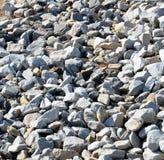 Achtergrondpatroon van Grey Rocks Stock Foto