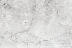 Achtergrondtextuur van concrete muur met witte verf Stock Afbeelding