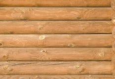 Achtergrondtextuur van de nieuwe lichtbruine houten logboeken Stock Foto's