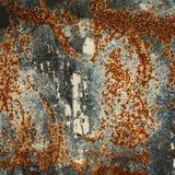 Achtergrondtextuur van geroest staal Abstracte grote roestoppervlakte vector illustratie
