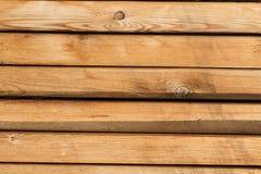 Achtergrondtextuur van houten raad Stock Afbeelding