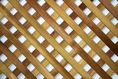 Achtergrondtextuur van houten rooster Stock Afbeeldingen