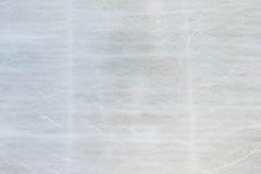Achtergrondtextuur van ijs het schaatsen piste met krassen Royalty-vrije Stock Afbeeldingen