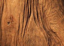 Achtergrondtextuur van oude houten raad Stock Afbeelding
