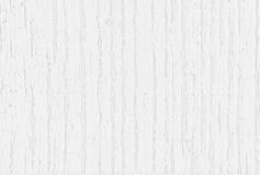 Achtergrondtextuur van oude witte geschilderde houten raad Stock Afbeelding