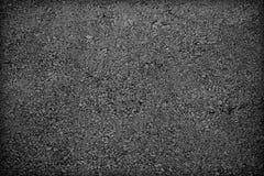 Achtergrondtextuur van ruw asfalt; Zwarte textuurachtergrond; Royalty-vrije Stock Fotografie