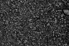 Achtergrondtextuur van ruw asfalt; Zwarte textuurachtergrond; Royalty-vrije Stock Foto