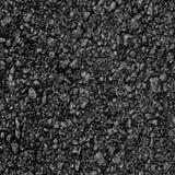 Achtergrondtextuur van ruw asfalt; Zwarte textuurachtergrond; Stock Afbeelding